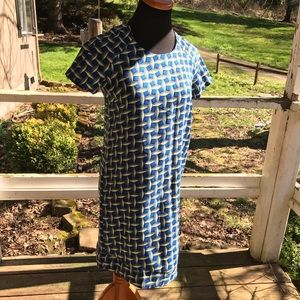 Sans Souci Geometric Shift Dress